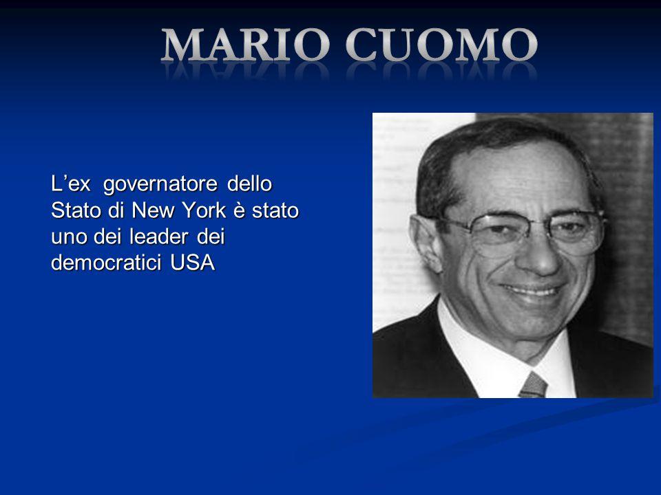 L'ex governatore dello Stato di New York è stato uno dei leader dei democratici USA