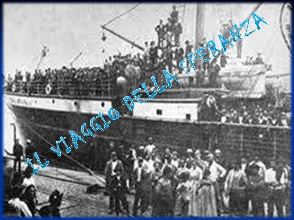 Il viaggio verso i paesi americani con le navi durava alcune settimane.