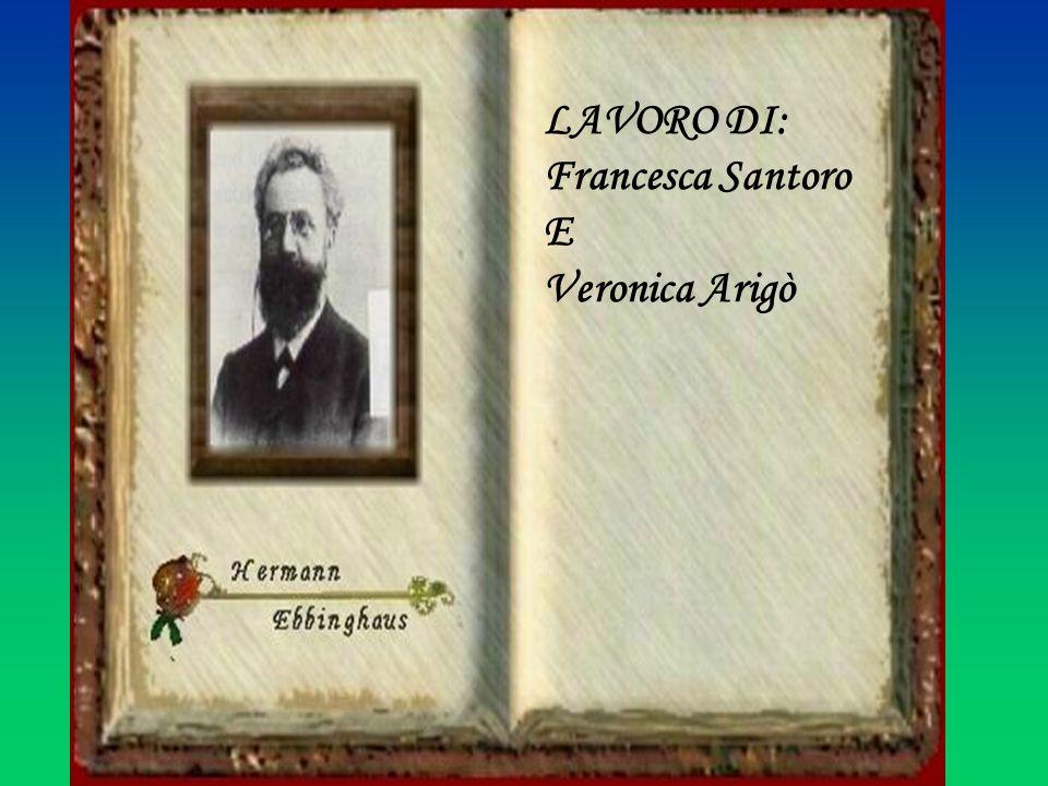 LAVORO DI: Francesca Santoro E Veronica Arigò