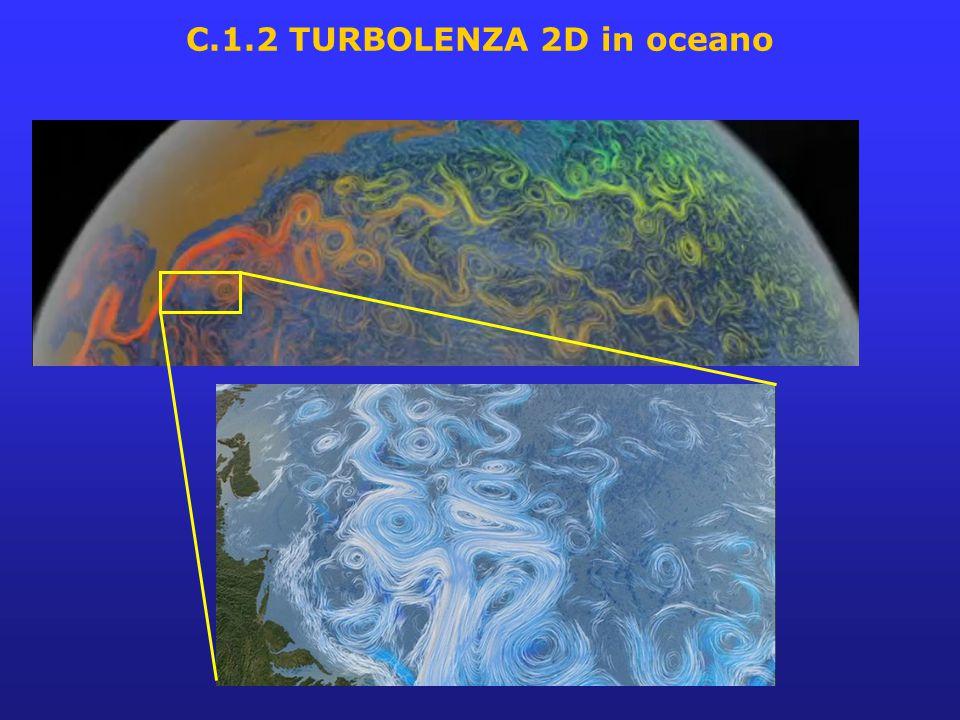 Turbolenza quasi-bidimensionale (Q2D): importanza teorica (semplificazione della 3D ma anche peculiarità: conservazione lagrangiana della vorticità, cascata inversa dell'energia, ecc.) e pratica (es.
