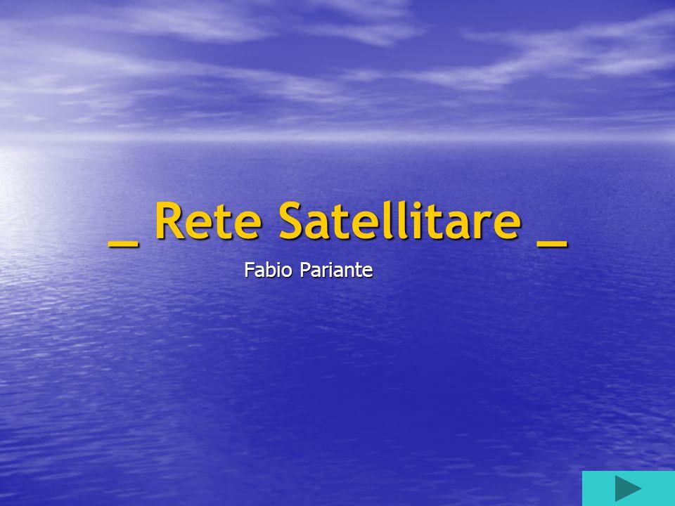 Per rete satellitare … Si intende la possibilità di sfruttare i satelliti per le connessioni ad Internet evitando quindi di passare del tutto, o quasi, attraverso la linea telefonica.