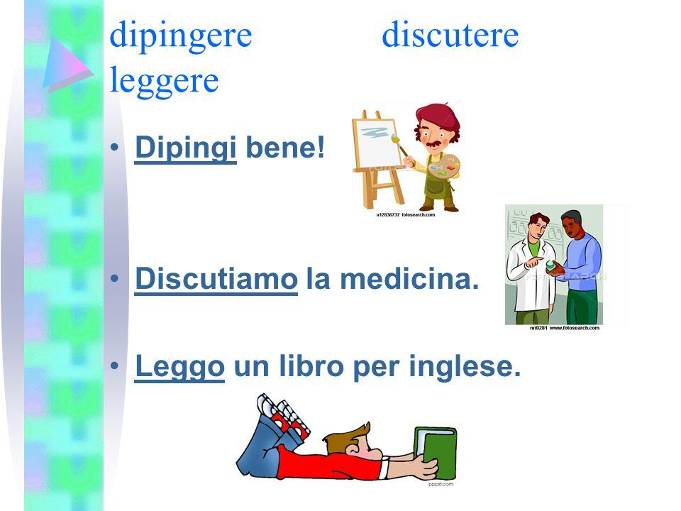 dipingerediscutere leggere Dipingi bene! Discutiamo la medicina. Leggo un libro per inglese.