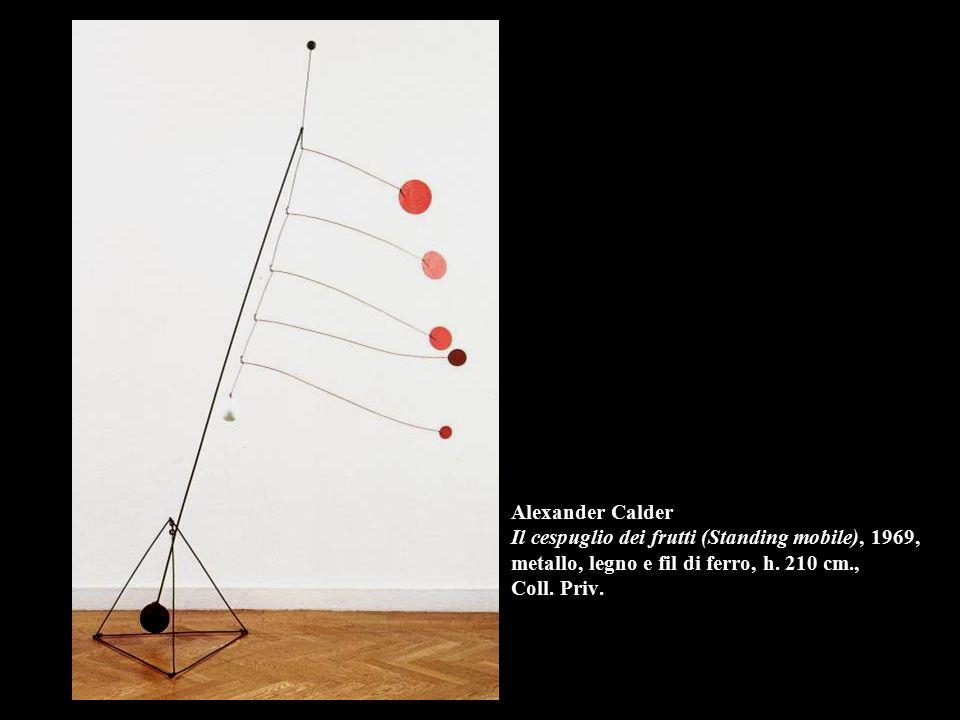 Alexander Calder Il cespuglio dei frutti (Standing mobile), 1969, metallo, legno e fil di ferro, h.