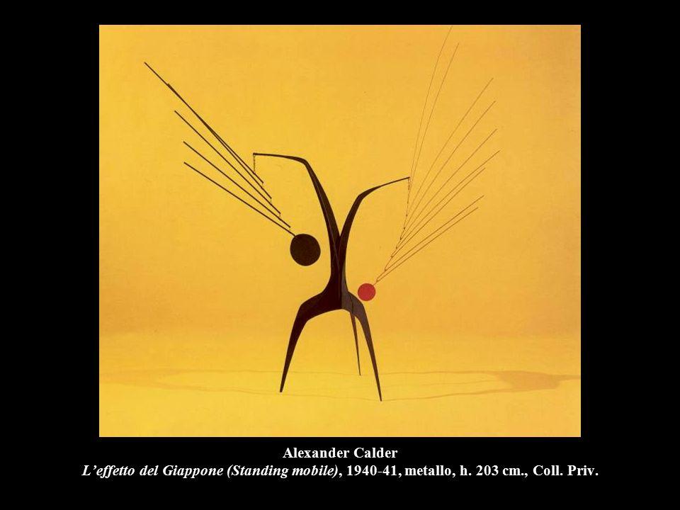 Alexander Calder L'effetto del Giappone (Standing mobile), 1940-41, metallo, h.