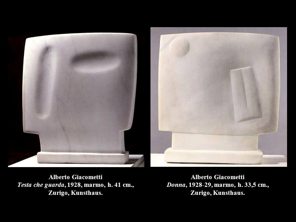 Alberto Giacometti Testa che guarda, 1928, marmo, h.
