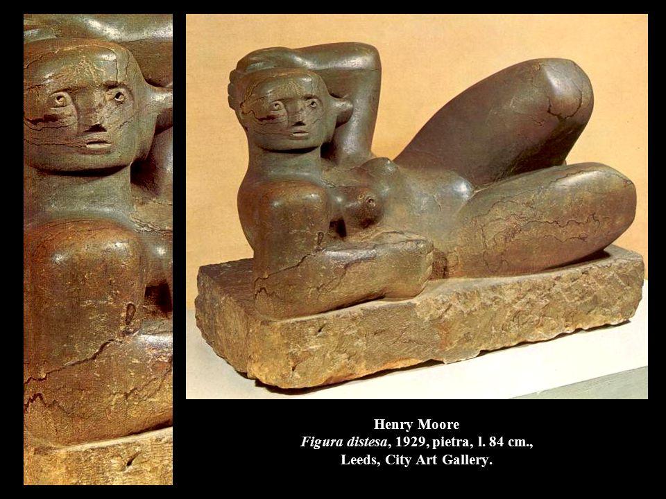 Alberto Giacometti Composizione cubista: uomo, 1926-27, gesso, h.