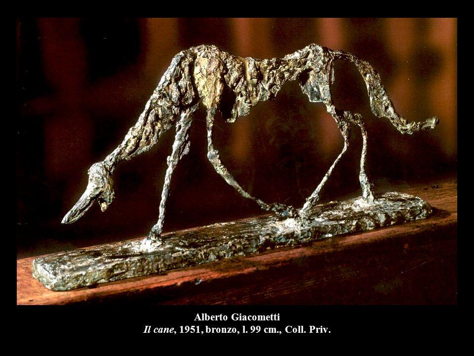 Alberto Giacometti Il cane, 1951, bronzo, l. 99 cm., Coll. Priv.