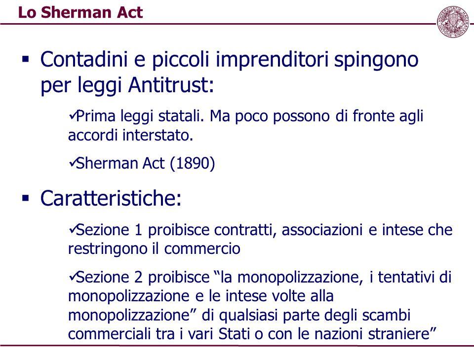 La normativa europea  Articoli 81 e 82 del Trattato sull'Unione Europea (ex artt.