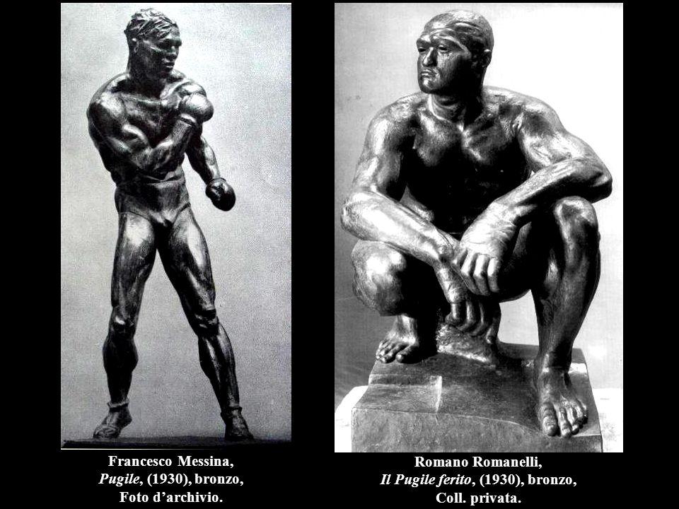 Francesco Messina, Pugile, (1930), bronzo, Foto d'archivio.