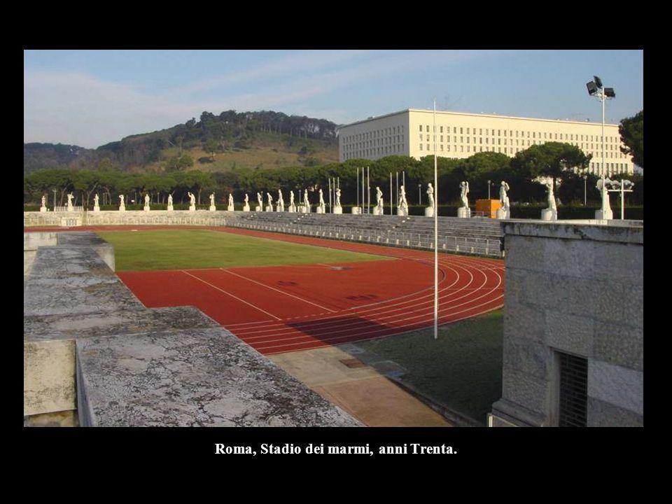 Roma, Stadio dei marmi, anni Trenta.
