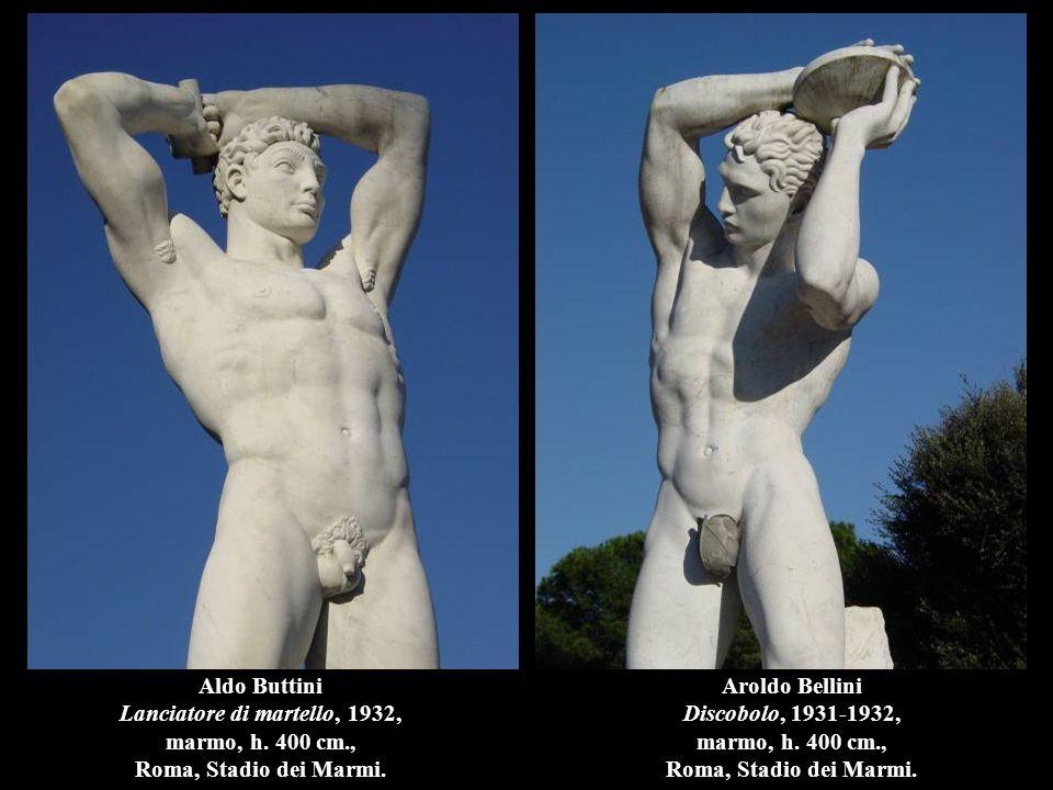 Aldo Buttini Lanciatore di martello, 1932, marmo, h.
