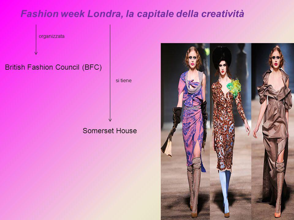 Fashion week Londra, la capitale della creatività organizzata British Fashion Council (BFC) Somerset House si tiene
