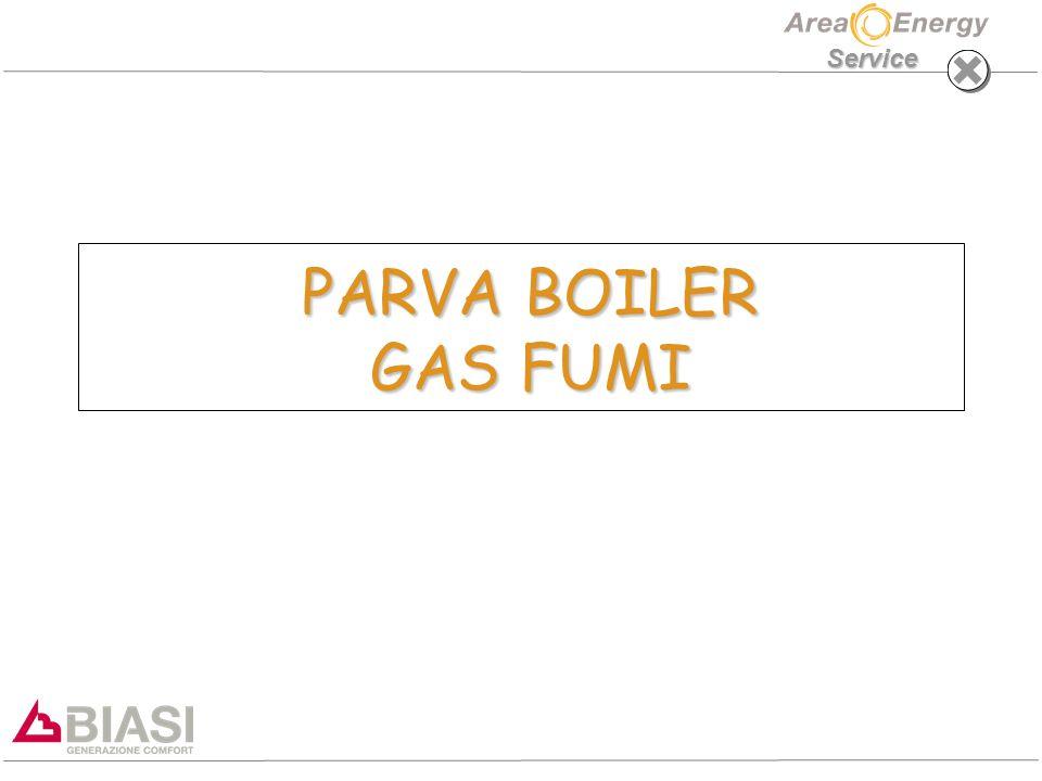 Service PARVA BOILER GAS FUMI PARVA BOILER GAS FUMI