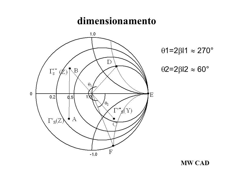 MW CAD dimensionamento  1=2  l1  270°  2=2  l2  60°