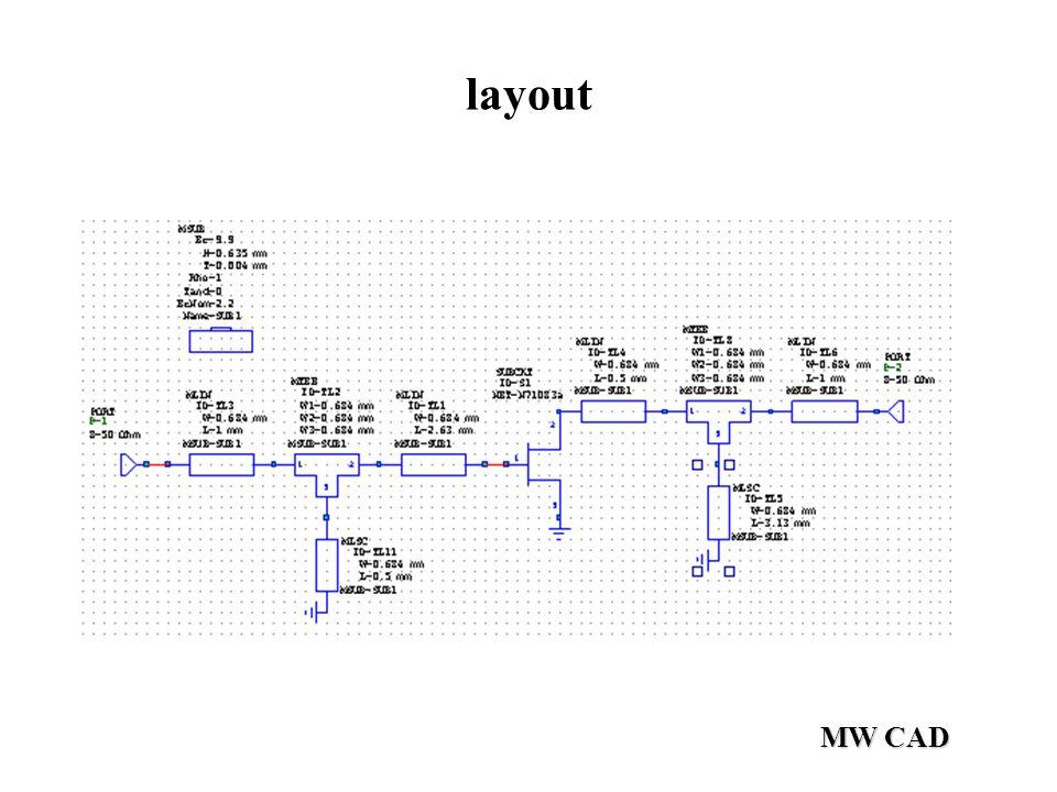 MW CAD layout