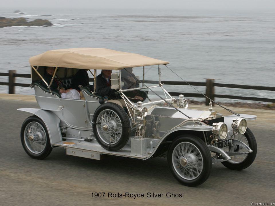 Le più belle SIGNORE degli anni 30 1907 Rolls-Royce Silver Ghost