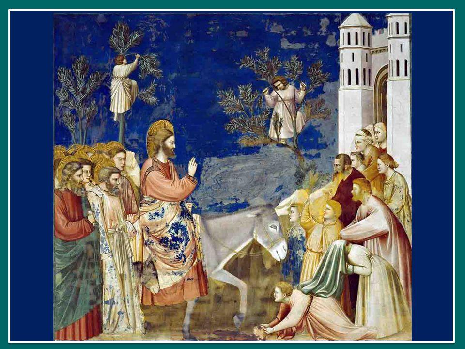 Chi sono io, davanti a Gesù che entra in festa in Gerusalemme.