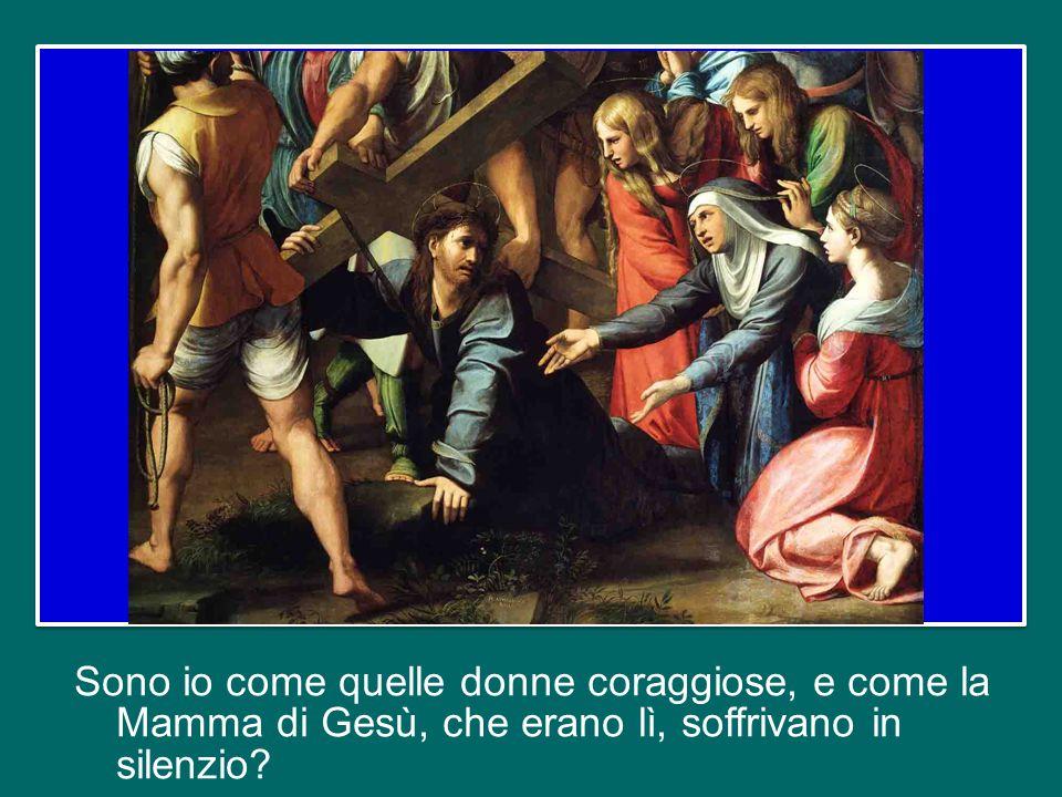 Sono io come quelli che passavano davanti alla Croce e si facevano beffe di Gesù: Era tanto coraggioso.