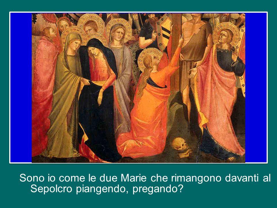 Sono io come Giuseppe, il discepolo nascosto, che porta il corpo di Gesù con amore, per dargli sepoltura