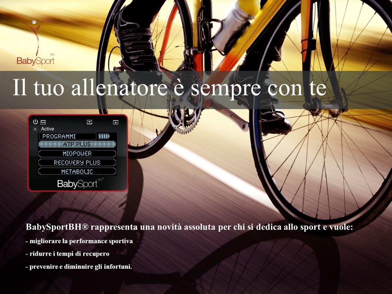 BabySportBH® rappresenta una novità assoluta per chi si dedica allo sport e vuole: - migliorare la performance sportiva - ridurre i tempi di recupero