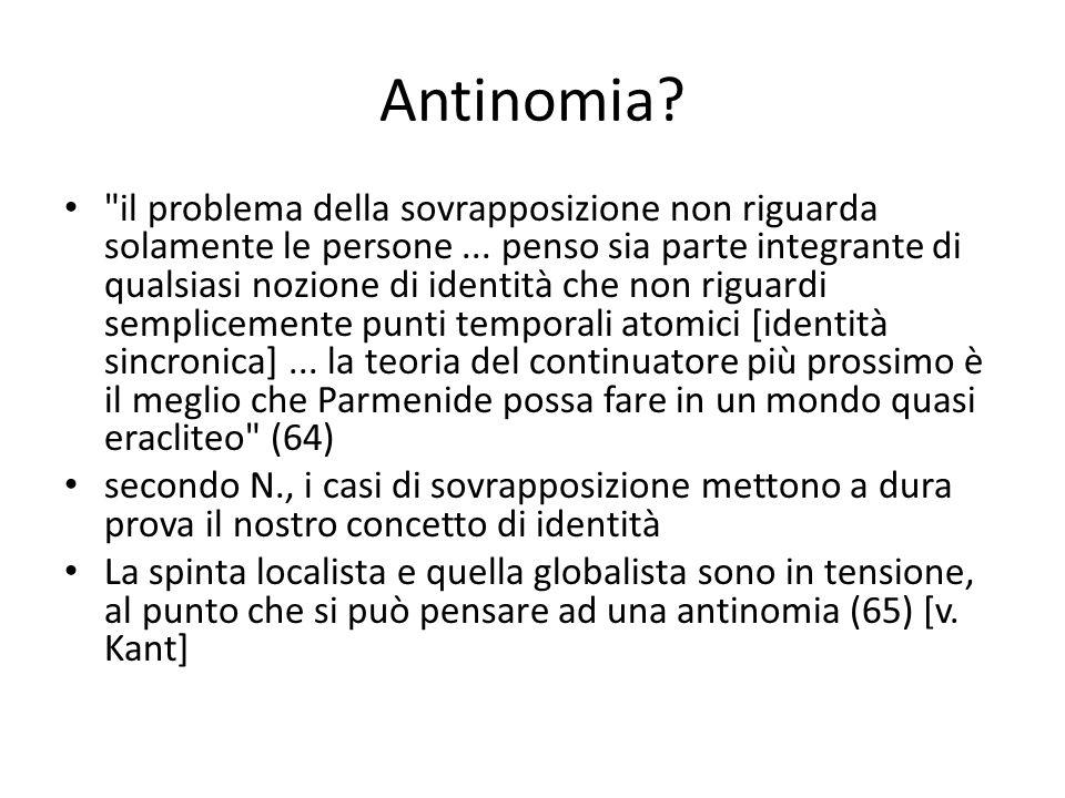 Antinomia?