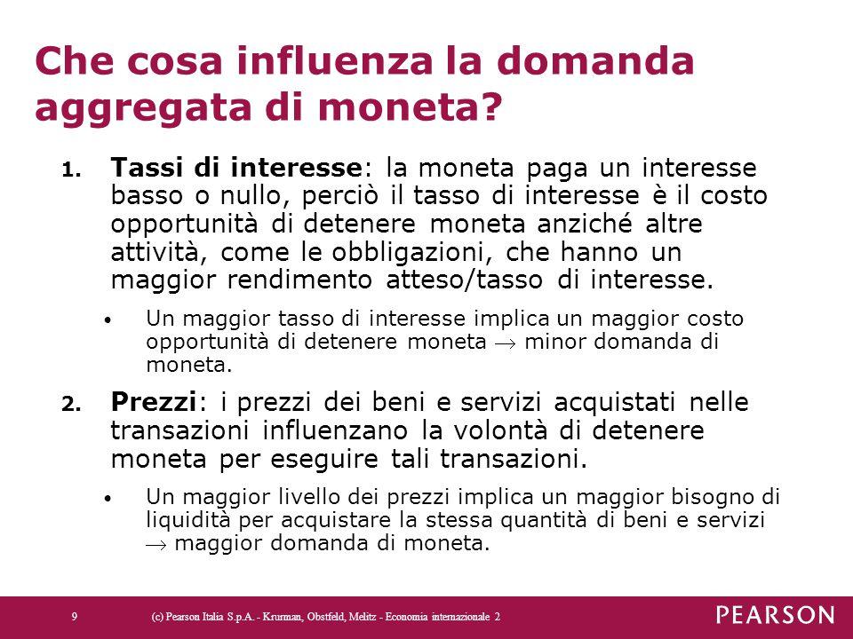 La crescita dell'offerta di moneta e l'iperinflazi one in Bolivia (c) Pearson Italia S.p.A.