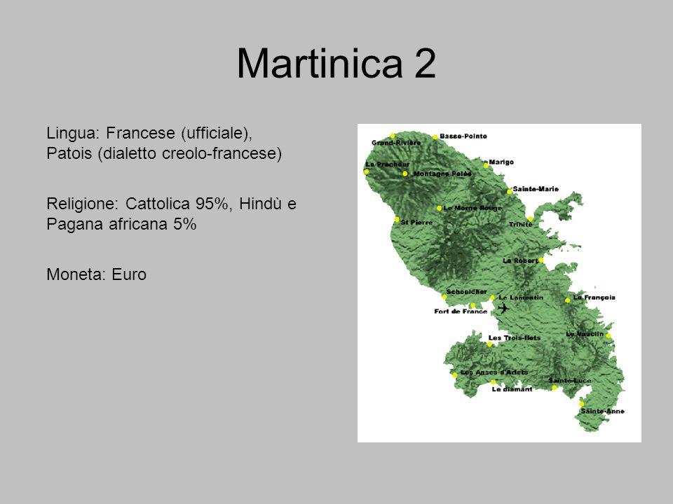 Breve storia della Martinica 1 La Martinica fu scoperta da Cristoforo Colombo in occasione del suo quarto viaggio, nel 1502.