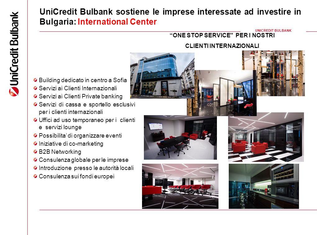 14 UniCredit Bulbank sostiene le imprese interessate ad investire in Bulgaria: International Center UNICREDIT BULBANK Building dedicato in centro a So