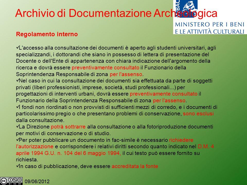09/06/2012 D.M.4/4/94 (G.U. n.104 6/5/94) TARIFFARIO 1.