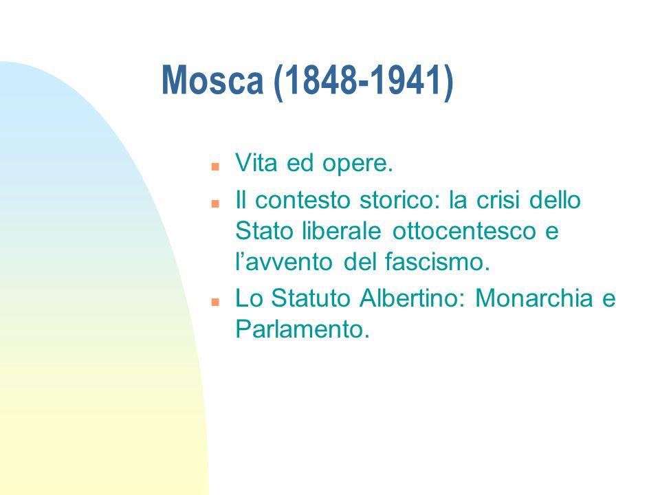 Mosca (1848-1941) n Vita ed opere.