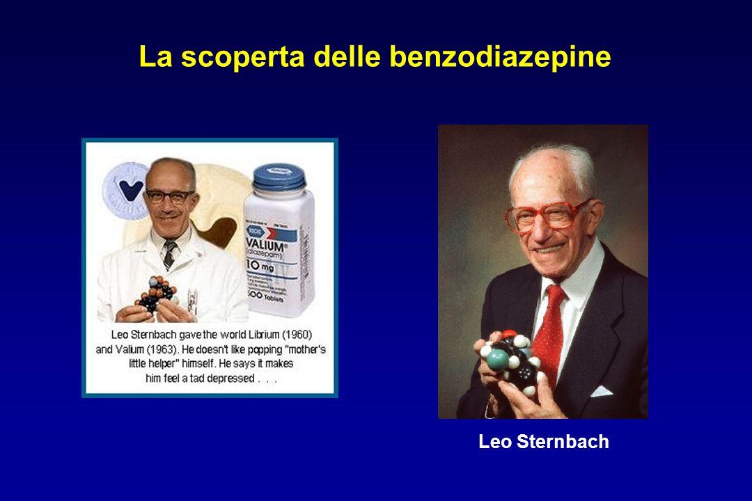 Leo Sternbach La scoperta delle benzodiazepine