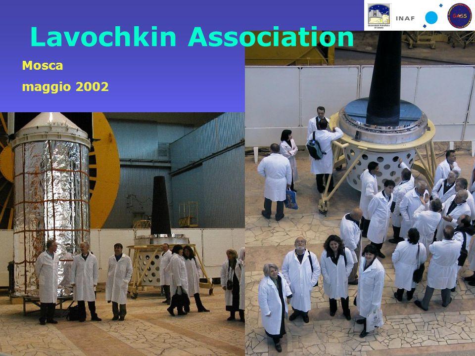 Catania, 24 Ottobre 2006La figura di Marcello Rodonò nella ricerca astrofisica Lavochkin Association Mosca maggio 2002