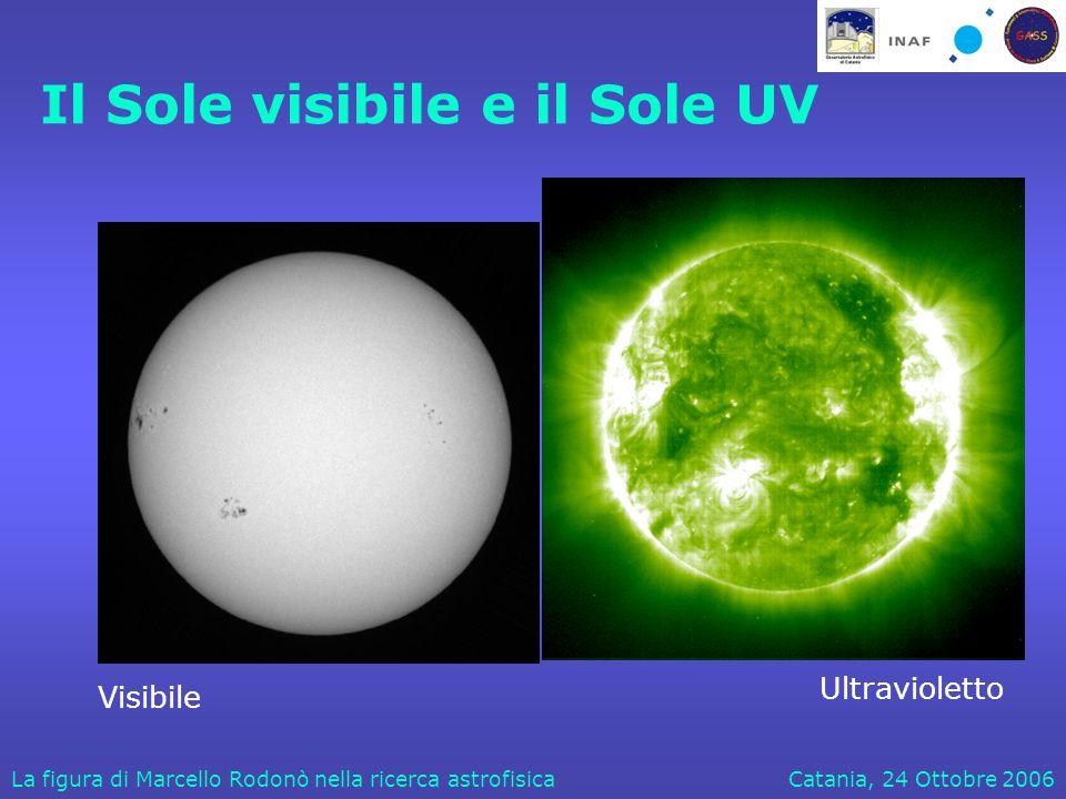 Catania, 24 Ottobre 2006La figura di Marcello Rodonò nella ricerca astrofisica Implementazione di strumentazione per l'UV Juno  Galex Spectrum UV UVISS WSO/UV