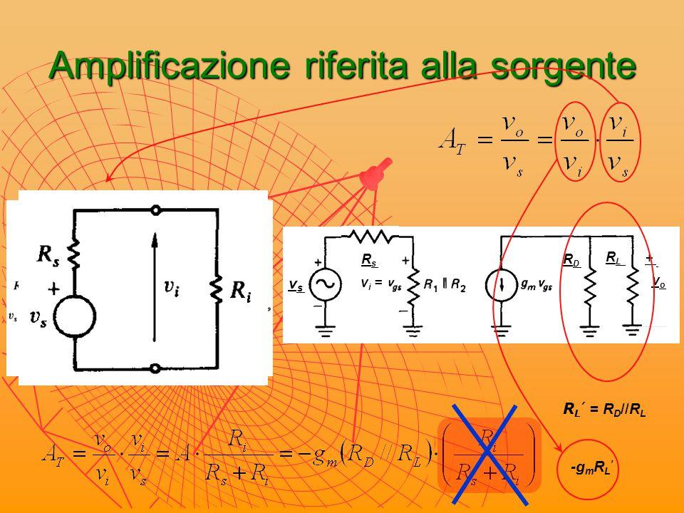 Amplificatore a doppio carico A deve essere indipendente dalle variazioni di tensione del circuito