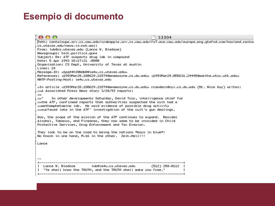 Esempio di documento