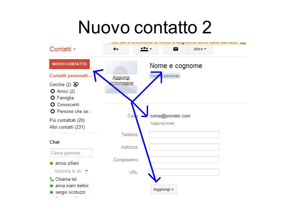 Nuovo contatto 2