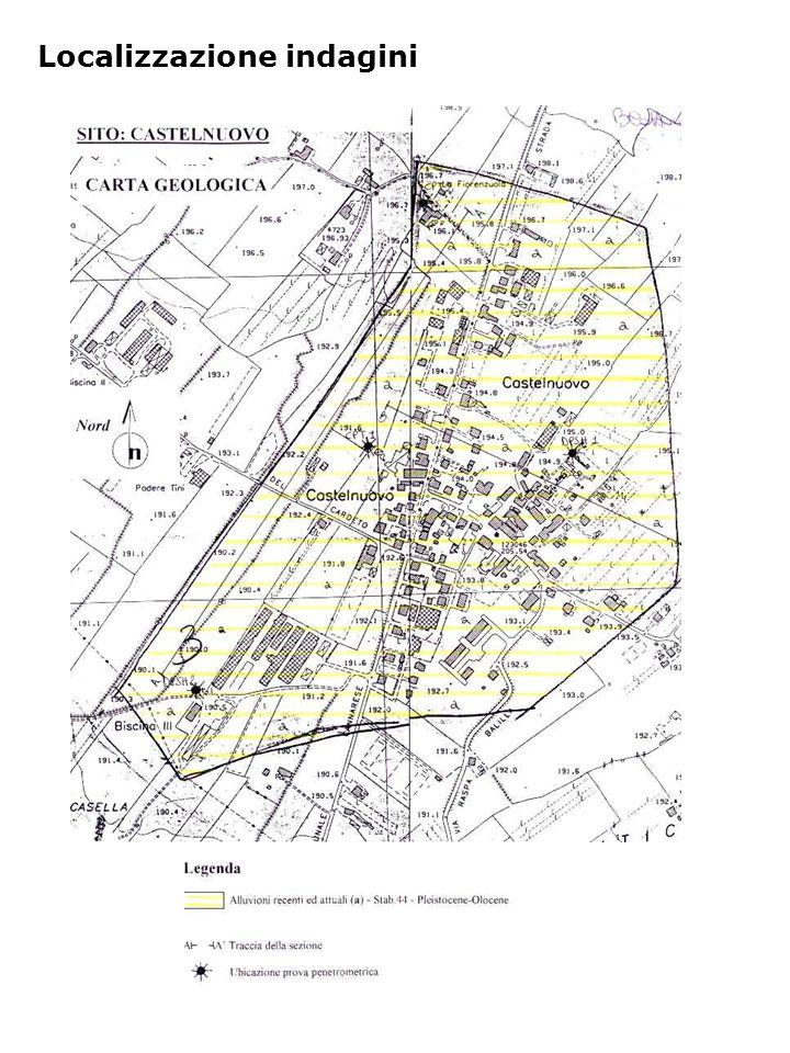 Localizzazione indagini