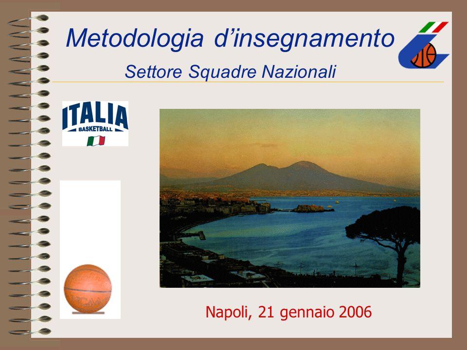 Metodologia d'insegnamento Settore Squadre Nazionali Napoli, 21 gennaio 2006