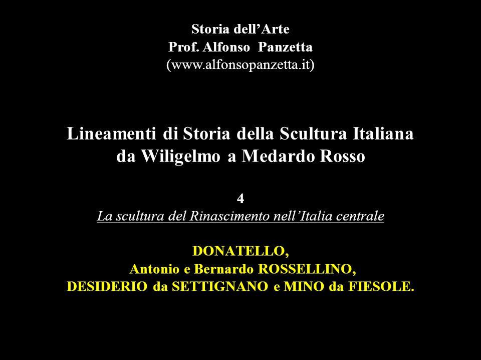Donatello David, 1408-09, marmo, h. 191 cm., Firenze, Museo Nazionale del Bargello.