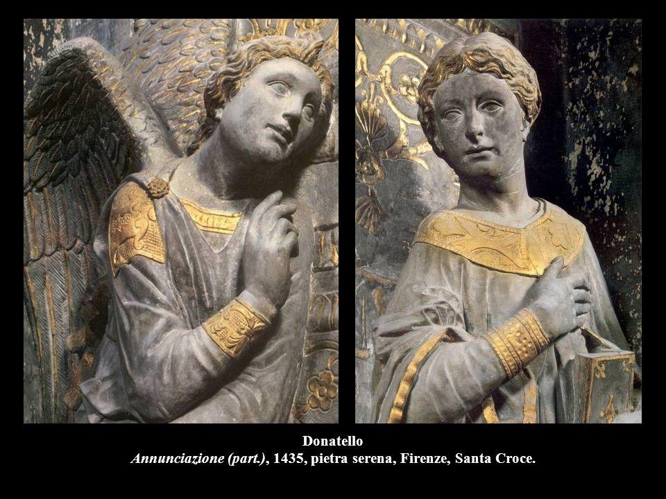 Donatello Cantoria, 1433-38, marmo, l.570 cm., Firenze, Museo dell'Opera del Duomo.