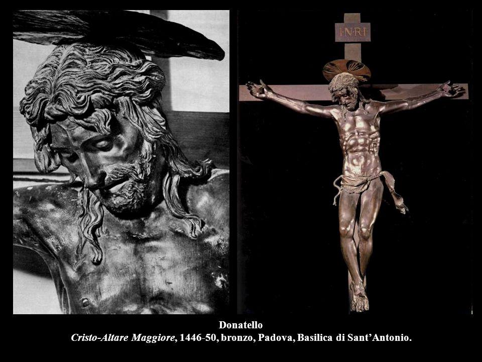 Donatello Il Gattamelata, 1446-53, bronzo, h.340 cm., Padova, Sagrato di Sant'Antonio.