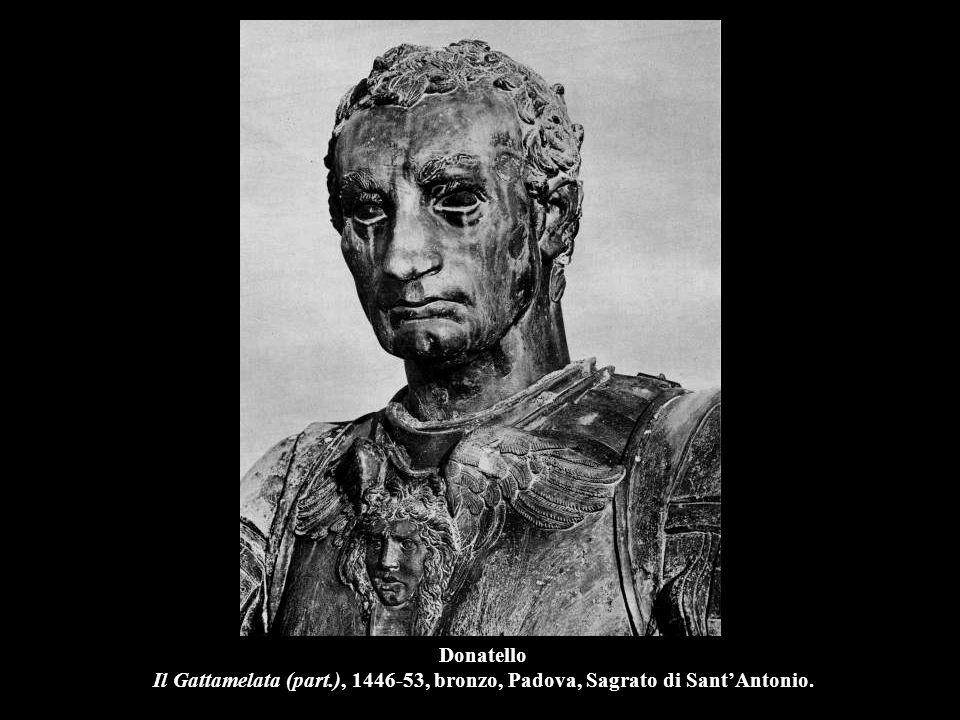 Donatello Maddalena, 1456-57, legno, Firenze, Museo dell'Opera del Duomo.