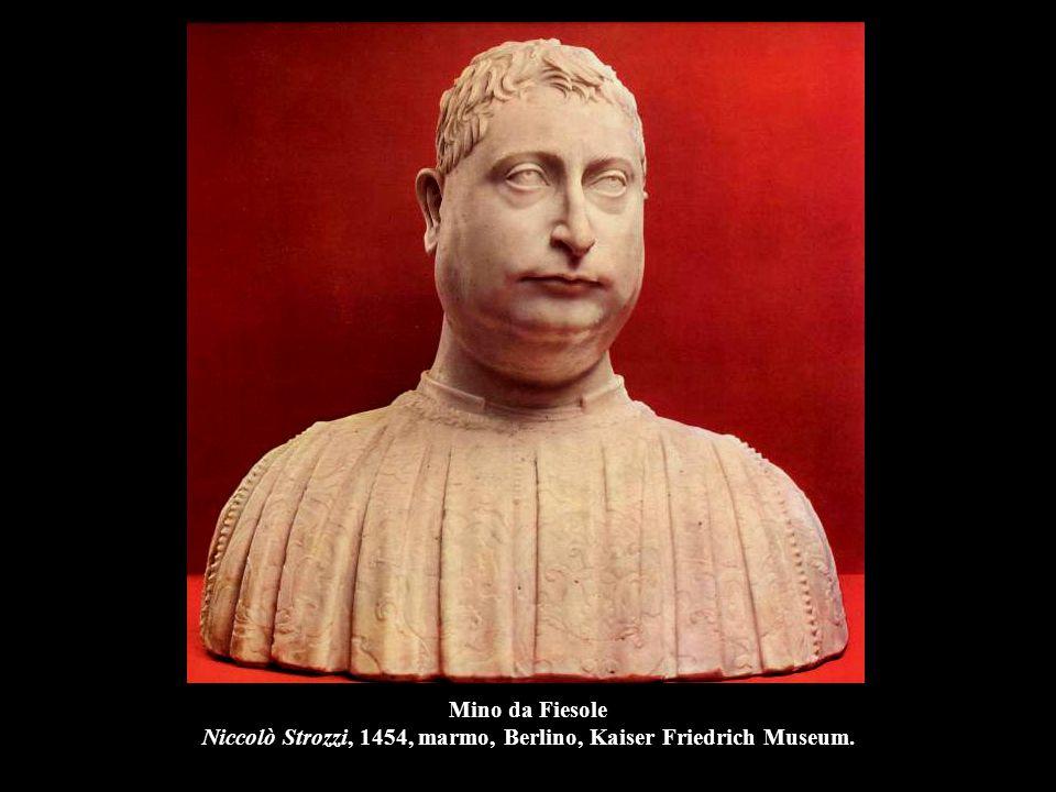 Mino da Fiesole Astorgio Manfredi II, 1455, marmo, Washington, National Gallery of Art.