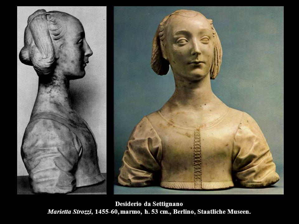 Desiderio da Settignano Busto di donna, 1460, marmo, h.