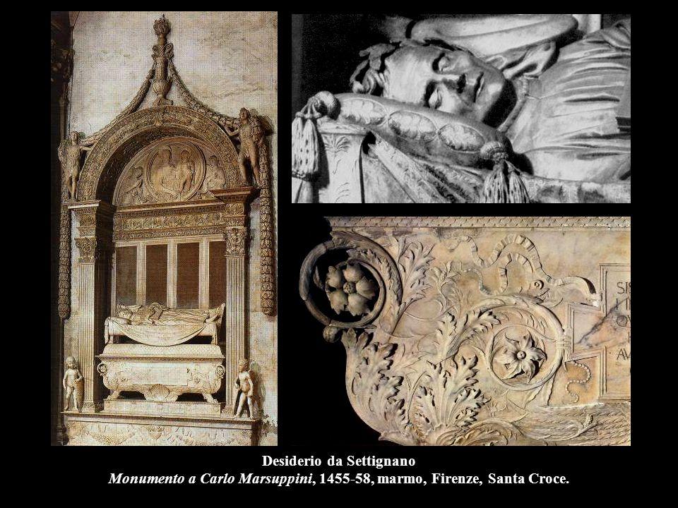 Antonio Rossellino Monumento al cardinale del Portogallo, 1461-66, marmo, Firenze, S.