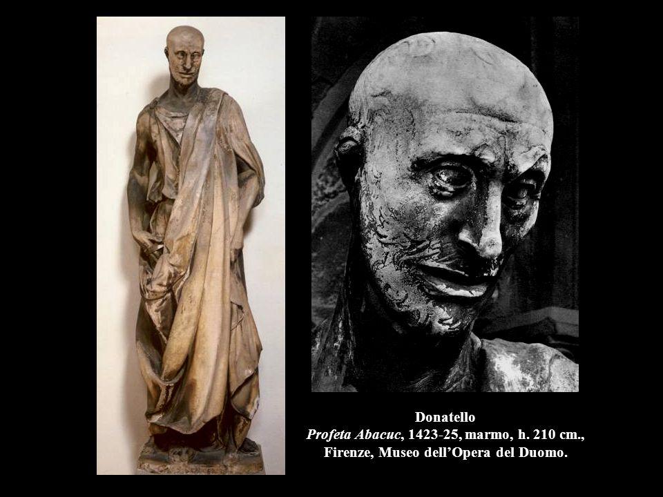 Donatello La consegna delle chiavi a S.Pietro, (1428), marmo, h.