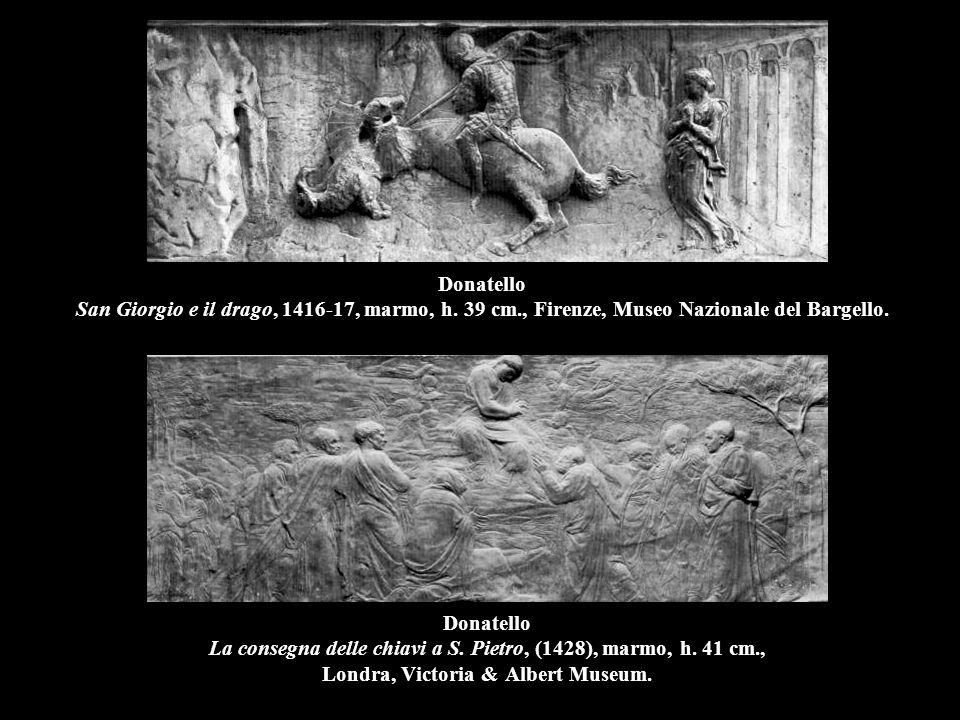 Donatello Banchetto di Erode, 1423-25, bronzo, 60 x 60 cm., Siena, Fonte battesimale del Battistero.