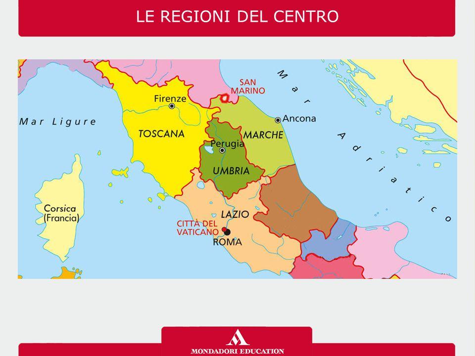 La Toscana presenta paesaggi molto vari: rilievi, pianure, zone costiere, isole.