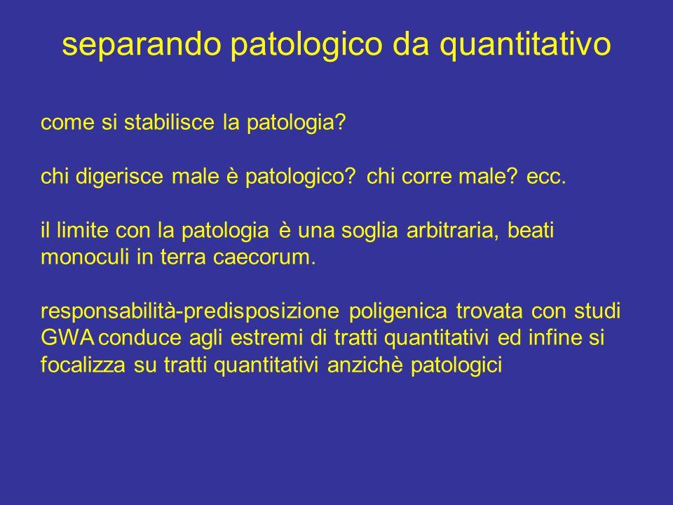 identificare i meccanismi quantitativi a.