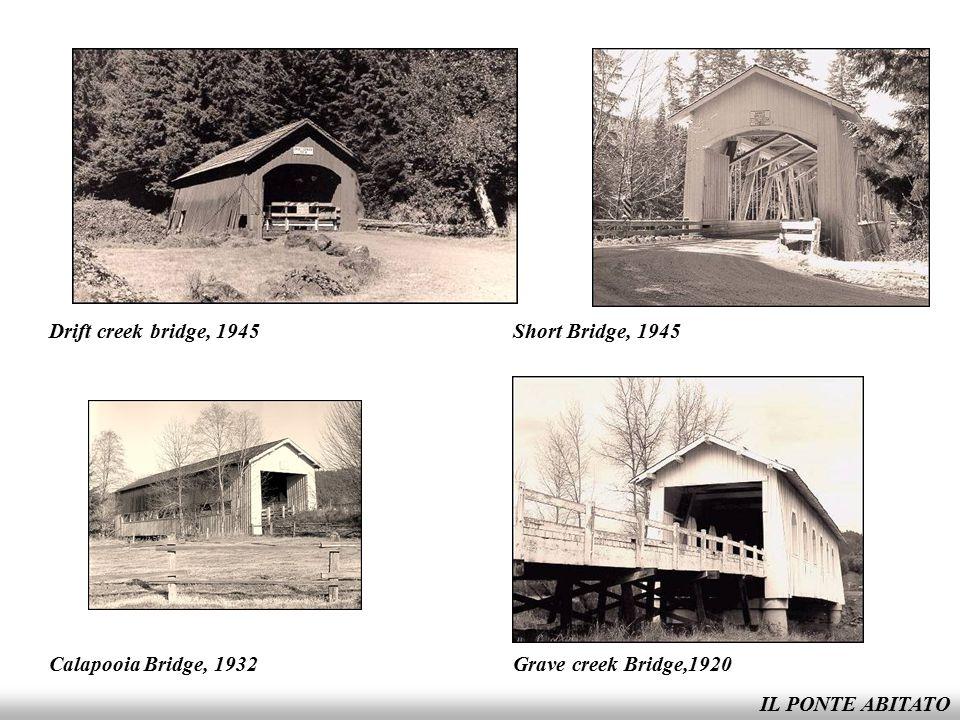 IL PONTE ABITATO Office Bridge, 1944
